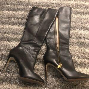 """Black knee high Michael Kors Boots - 4"""" heel"""
